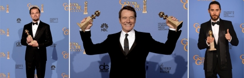 US-71ST-ANNUAL-GOLDEN-GLOBE-AWARDS---PRESS-ROOM