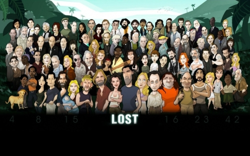 cartoons artwork tv series lost 1680x1050 wallpaper_www.wall321.com_70