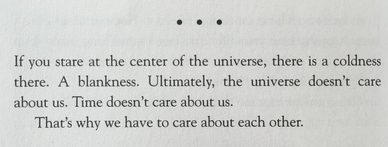 universe dont care