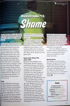 Movie Freaks #13 - Shame