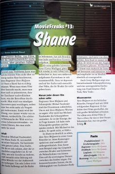 Movie Freaks #13 - Shame
