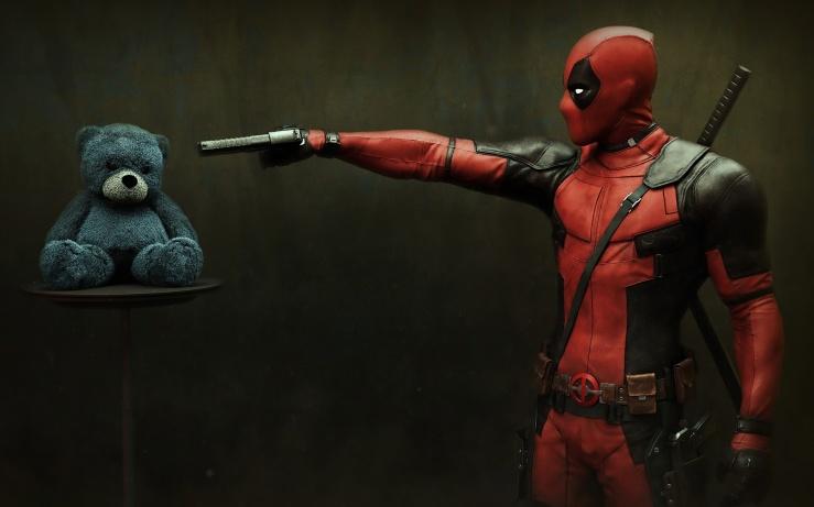 Deadpool-gun-to-teddy-bear